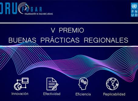 Resultado ganadores V Premio de Buenas Prácticas Regionales