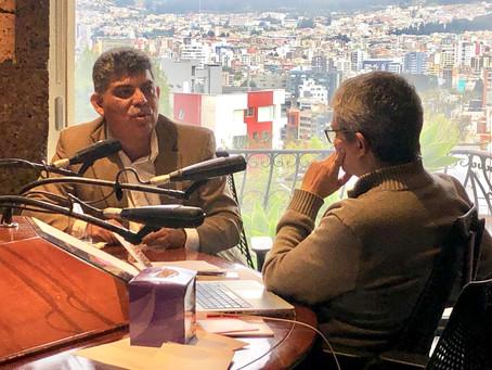 Entrevista en Radio Visión Quito