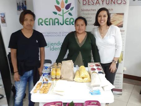 Emprendimiento de la Renajer en Feria Mineduc