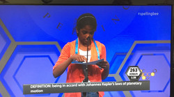 National Spelling Bee Contestant