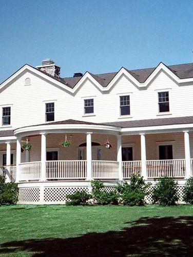 Gabled Roof Farmhouse