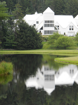 White House on a Lake