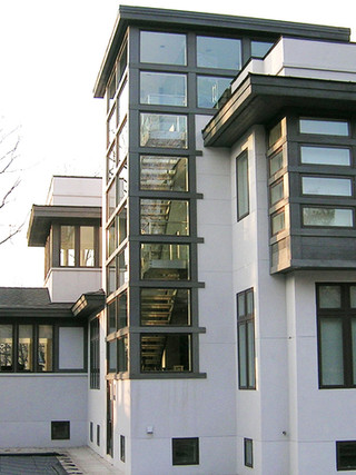 Contemporary Two-Story Studio