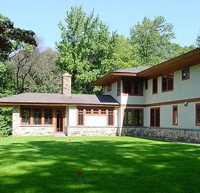 usonian influenced house
