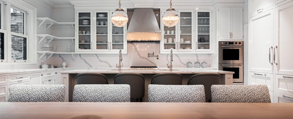 wright architects NYC townhouse kitchen4