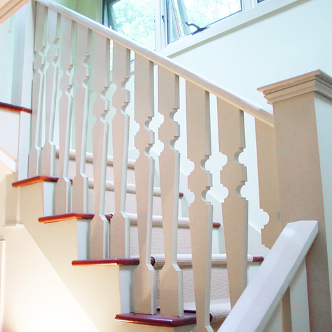stair Connecticut Residence Wright archi