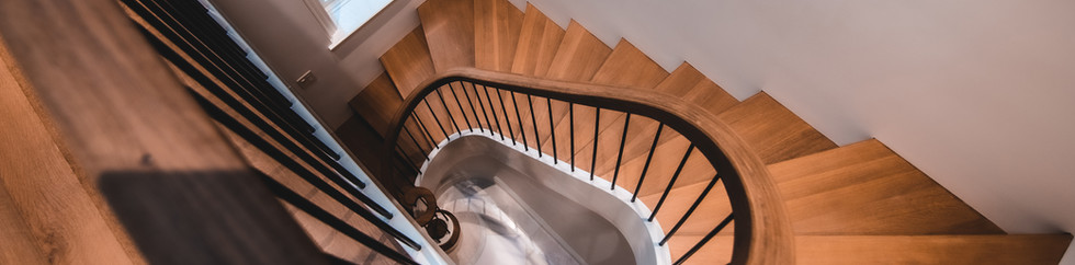 wright architects NYC townhouse stair3.j