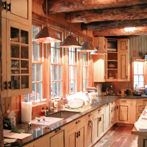 kitchen Adirondack Lodge Home wright arc