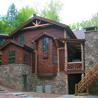 ext 2 Adirondack Lodge Home wright archi