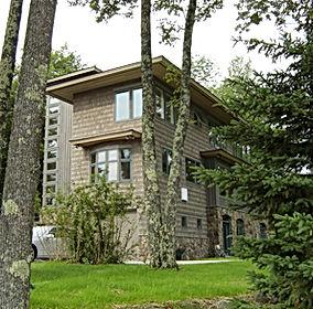 contemporary country home