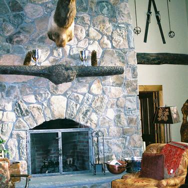 living 2 Adirondack Lodge Home wright ar