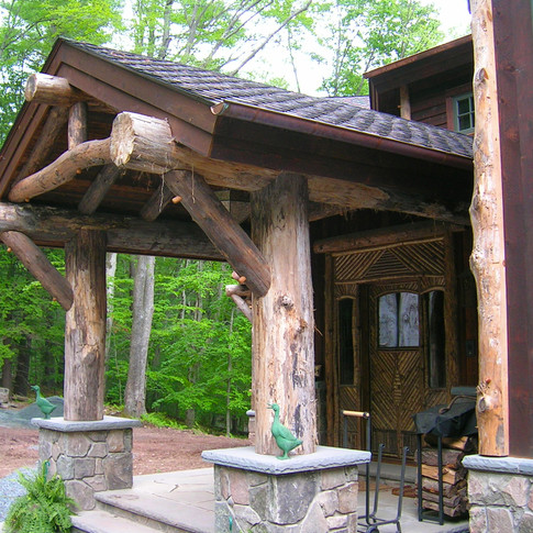 ext entry Adirondack Lodge Home wright a