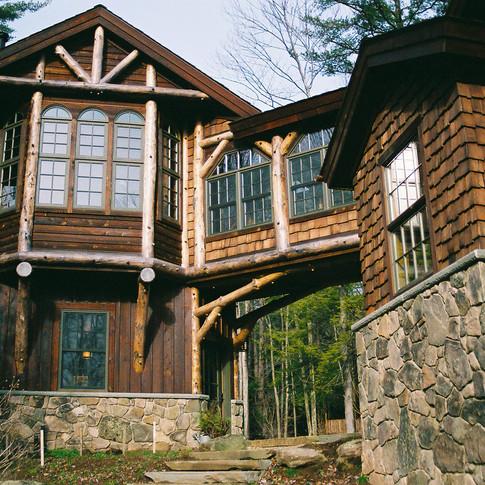 ext 5 Adirondack Lodge Home wright archi