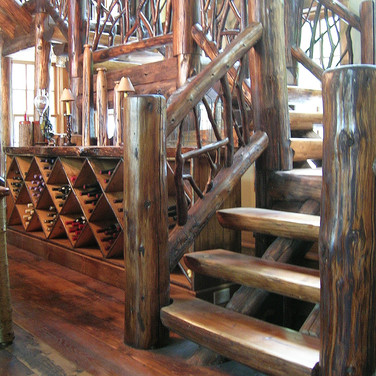 int stair 1 Adirondack Lodge Home wright
