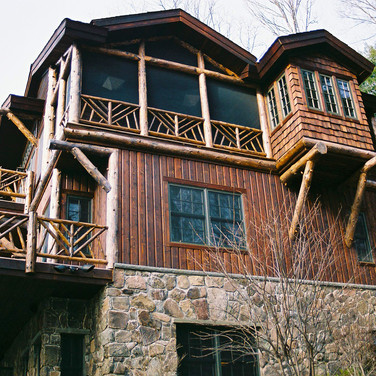 ext 4 Adirondack Lodge Home wright archi