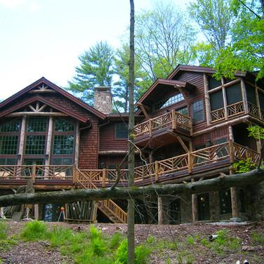 ext 1 Adirondack Lodge Home wright archi
