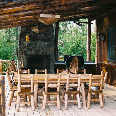 ext dining Adirondack Lodge Home wright