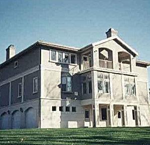 three story residence