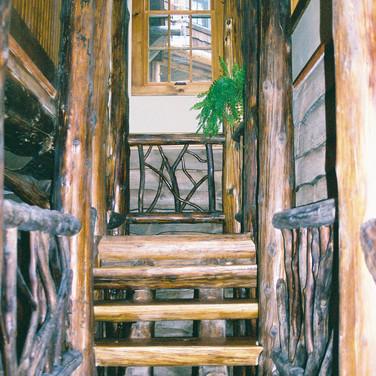 int stair 2 Adirondack Lodge Home wright