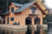 lakeside adirondack home
