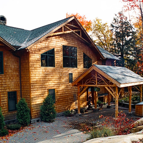 NEW lakeside adirondack house wright arc