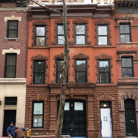 wright architects NYC townhouse exterior
