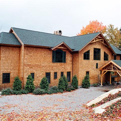 lakeside adirondack house wright archite