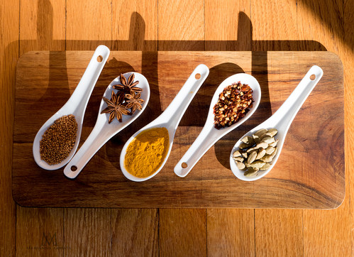 fresh dried spices