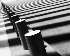 pylons outside the Oculus