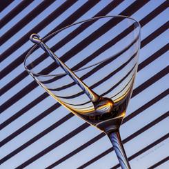 striped martini