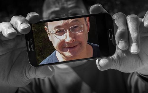 cell phone selfie