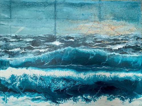 Tumbling Waves- £425