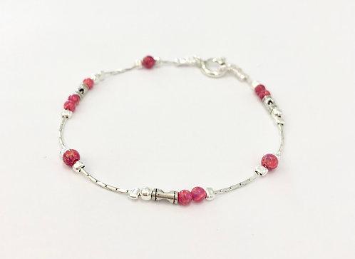 Red Opal Bracelet - £68