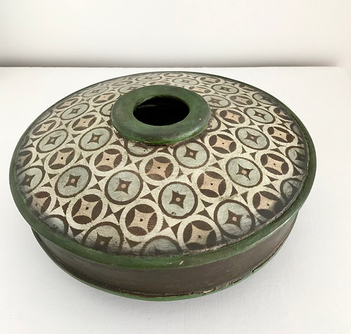 Green Patterned Vessel - £450