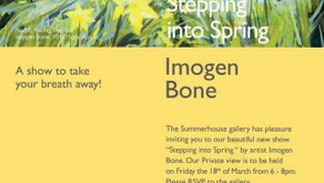 STEPPING INTO SPRING WITH IMOGEN BONE - March 2016