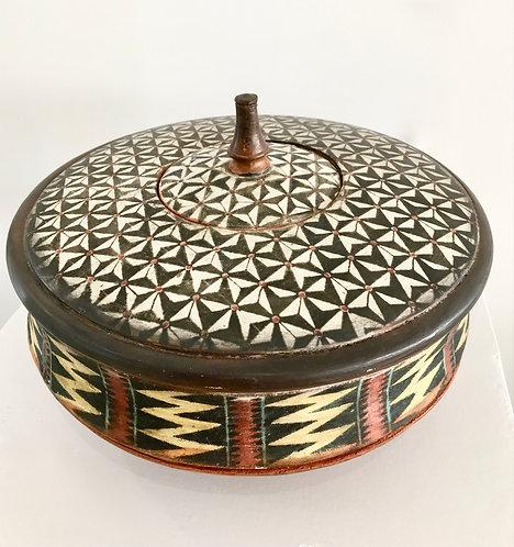 Patterned Ceramic Vessel - £480