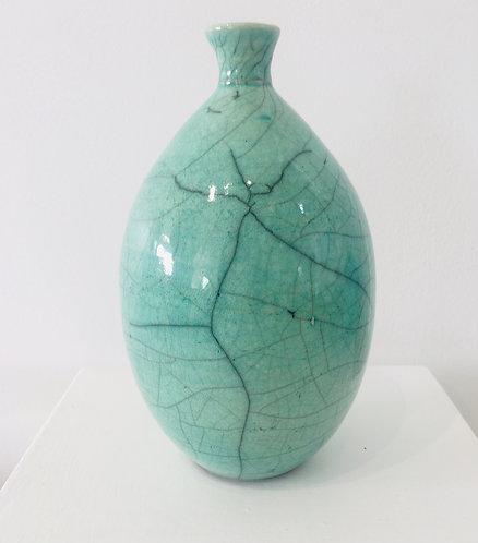 Green Raku Pot - £60