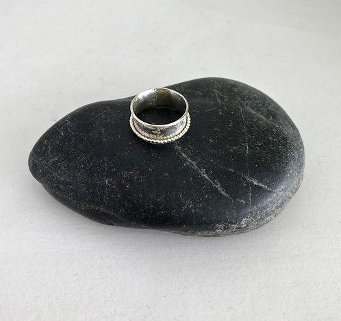Silver Spinner Ring - £55