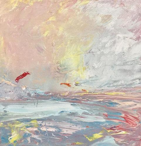 Flying in Sunshine, Marazion Bay - £250
