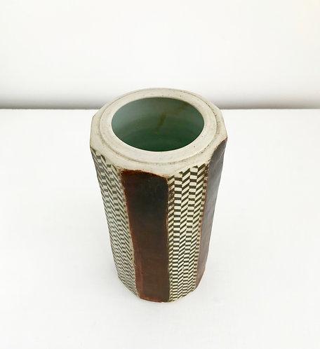 Patterned Ceramic Vessel - £130