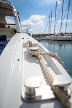 The Pinelli Yacht Tied Rope
