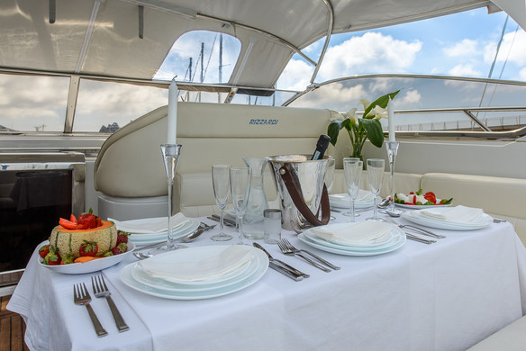 The Pinelli Motor Yacht Interior