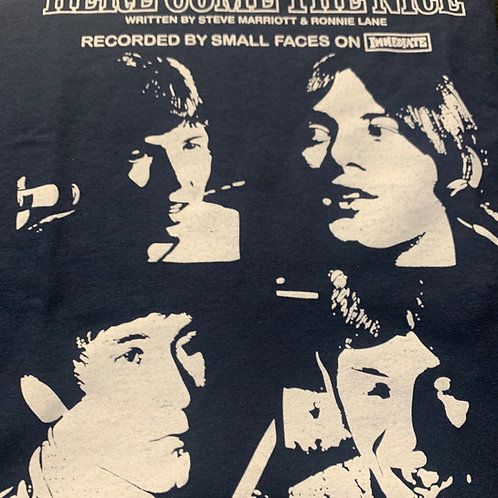 The Small Faces、Here Comes The Nice-メンズTシャツ
