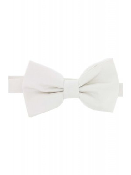 Satin Silk White Luxury Bow Tie