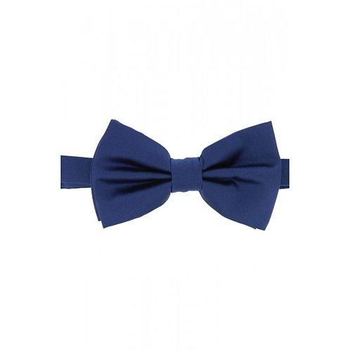 Satin Silk Navy Luxury Bow Tie