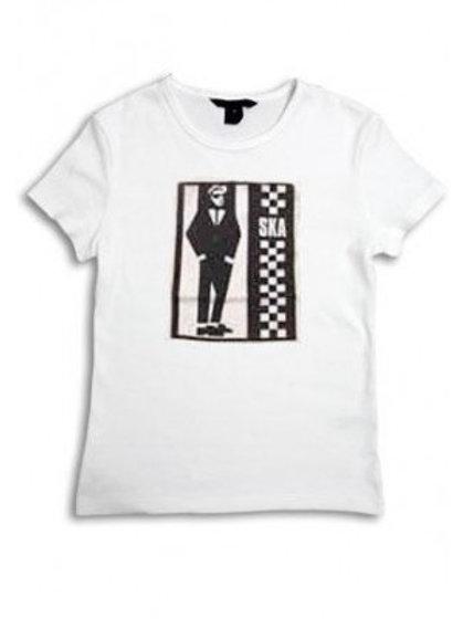 Ska Two Tone T Shirt LADIES