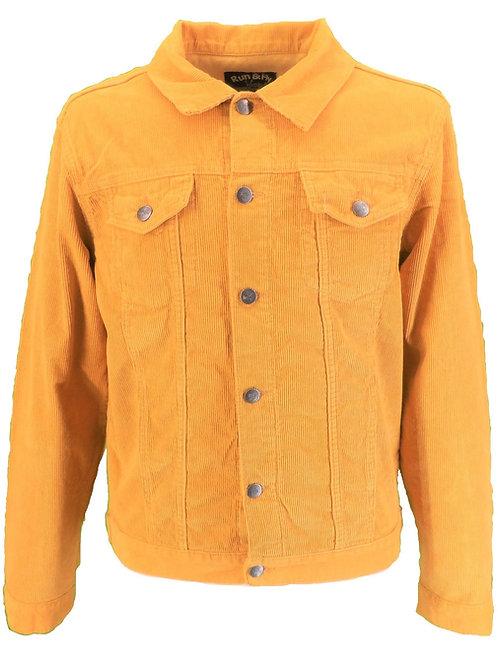 Classic Cord Jacket - Mustard Yellow