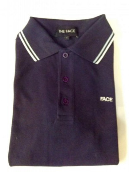 Navy Face Polo Shirt