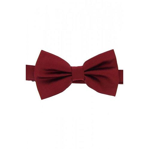 Satin Silk Wine Luxury Bow Tie