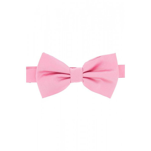 Satin Silk Pink Luxury Bow Tie